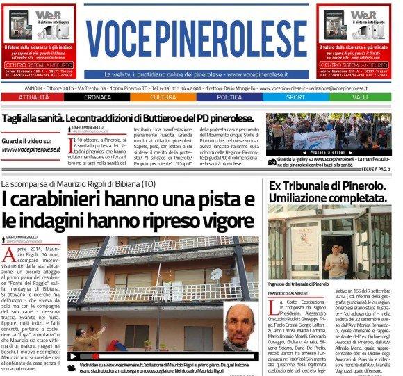 Voce Pinerolese Ottobre 2015
