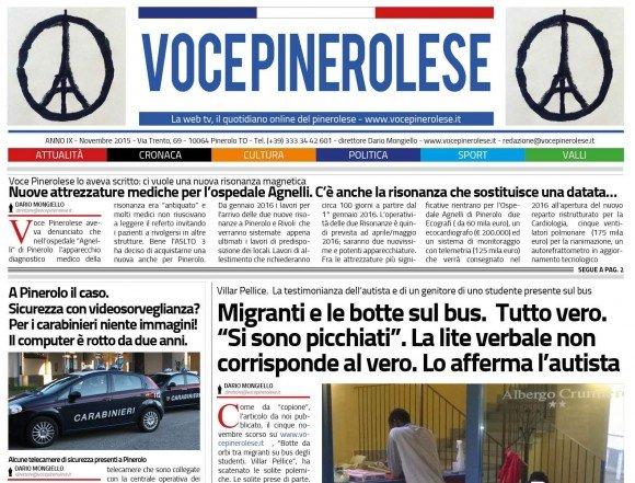 Voce Pinerolese Novembre 2015