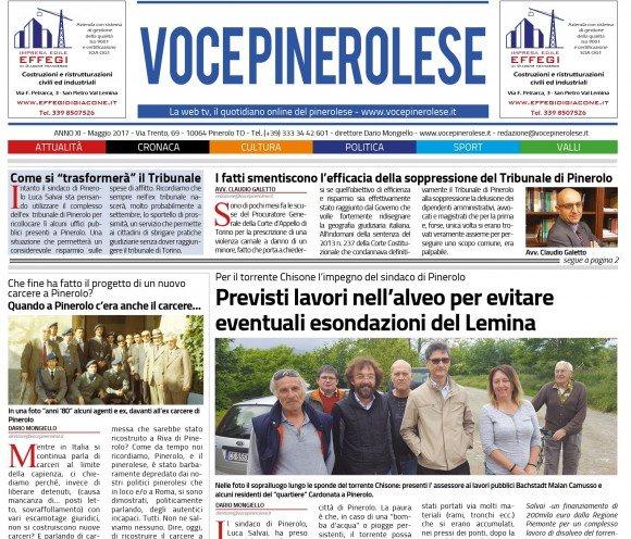 Voce Pinerolese Maggio 2017