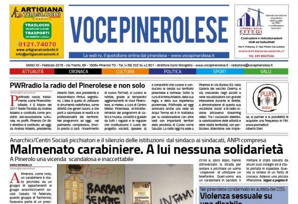 Voce Pinerolese Febbraio 2018