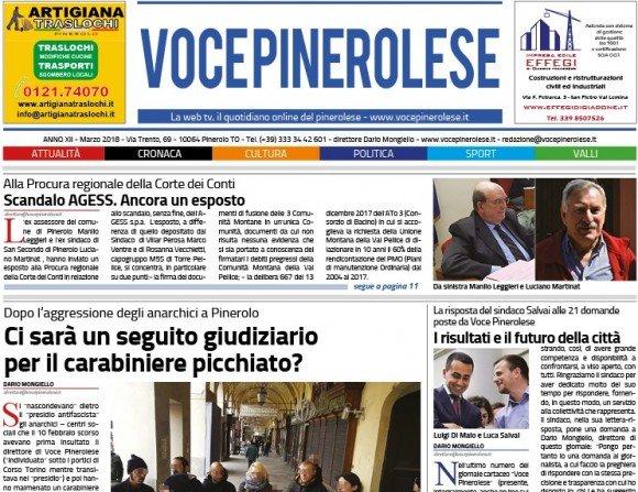 Voce Pinerolese Marzo 2018