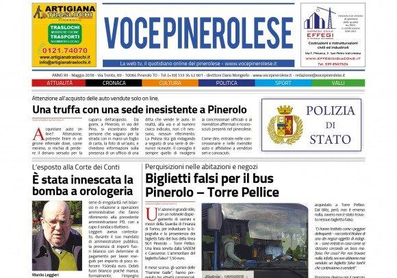 Voce Pinerolese Maggio 2018