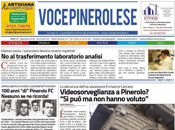 Voce Pinerolese Novembre 2018
