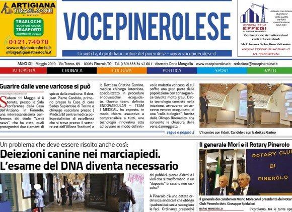 Voce Pinerolese Maggio 2019