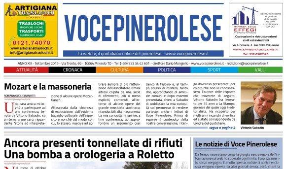 Voce Pinerolese Settembre 2019