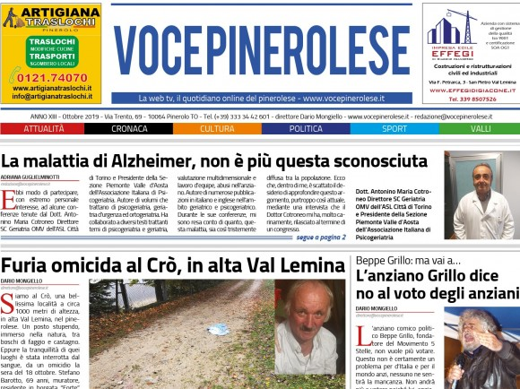 Voce Pinerolese Ottobre 2019
